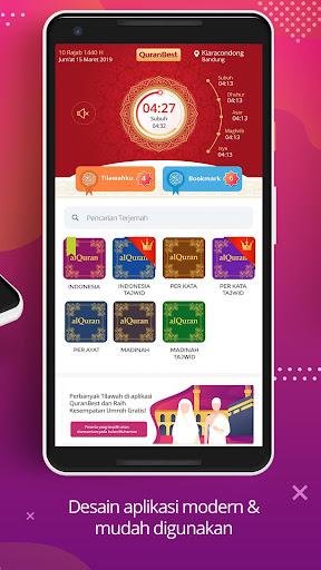 Quran Best Indonesia & Waktu Sholat 0.8.2 screenshots 2