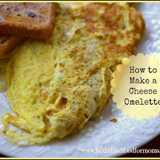 How to Make a Simple Cheese Omelette