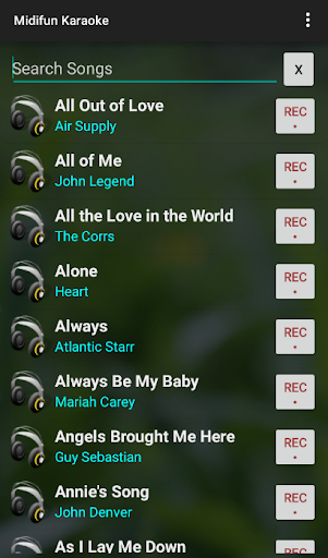 Midifun Karaoke 8.18 screenshots 5