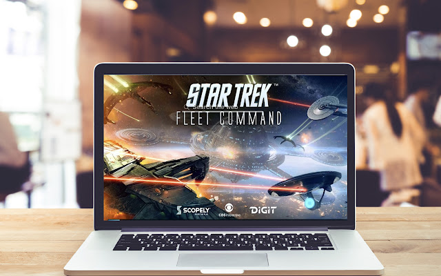 Star Trek Fleet Command Wallpaper Game Theme