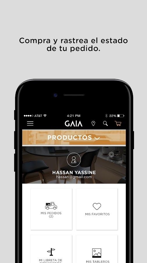 GAIA Design- screenshot