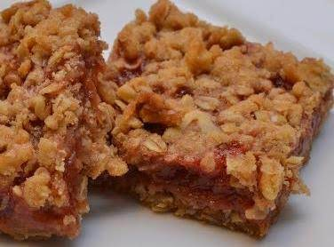 Orange Rhubarb Bars Recipe