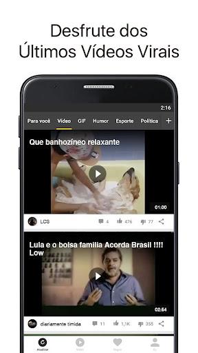 Topbuzz: Notu00edcias do Dia, Vu00eddeos Engrau00e7ados, Gifs  screenshots 2