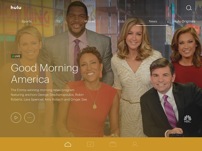 Screenshot 12 for Hulu's Android app'