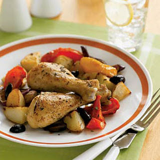 Roast Rosemary Chicken and Vegetables