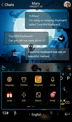 玩免費生活APP|下載Night Pumpkin Keyboard Theme app不用錢|硬是要APP
