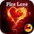 Stylish Wallpaper Fire Love Theme file APK Free for PC, smart TV Download