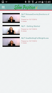 Gastric Band Hypnosis,NLP&EFT- screenshot thumbnail