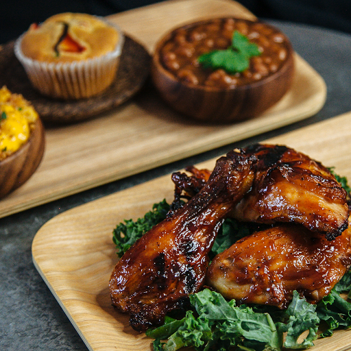Citrus Charred BBQ half Chicken