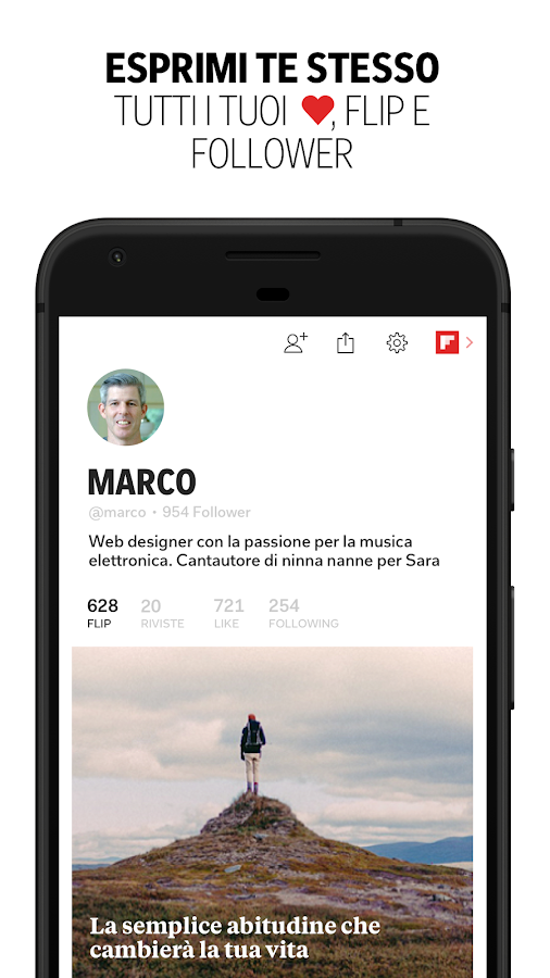 Flipboard- screenshot