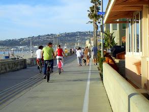 Photo: Boardwalk on Pacific Beach, CA