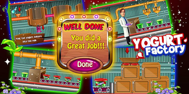 yogurt factory cooking game apps on google play