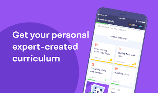 Mimo Learn coding Premium Apk [Premium Subscription Unlocked)] 5