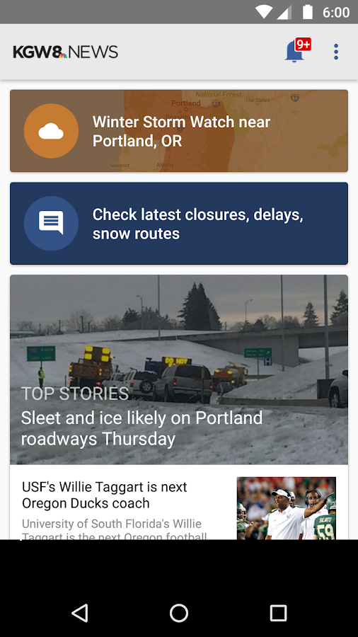 KGW 8 News - Portland- screenshot