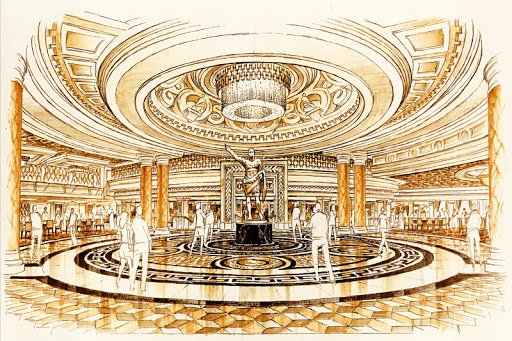 Caesars Palace to Renovate Main Entrance, Nobody Knows Why