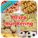 Resep Kue Kering Offline Terbaru icon