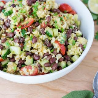 Chili-lime Black Bean & Rice Salad.