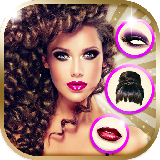 Beauty Cam Photo Effects - Hairstyle & Makeup