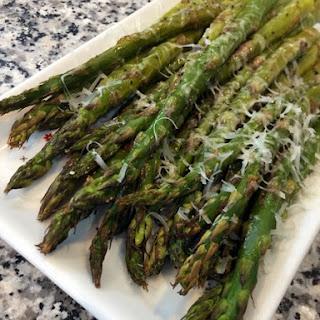 Roasted Asparagus & Parmesan Recipe