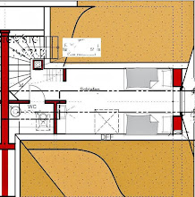Photo: Grundriß Spitzboden: Schlafzimmer mit 2 Einzelbetten, separates WC. Weitere Infos unter www.freie-ferienwohnung-zingst.de .
