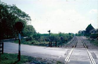 Photo: Spoorwegovergang