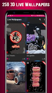 VFX 3D Parallax Live Wallpaper 2 96 + (AdFree) APK for Android