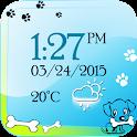Puppy Digital Weather Clock icon