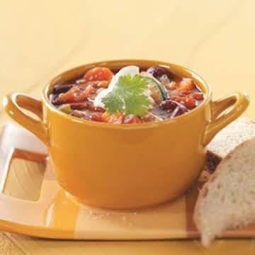 Spicy Vegetable Chili Recipe