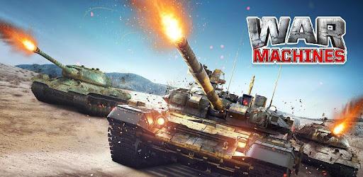 War Machines: Free Multiplayer Tank Shooting Games - Ứng