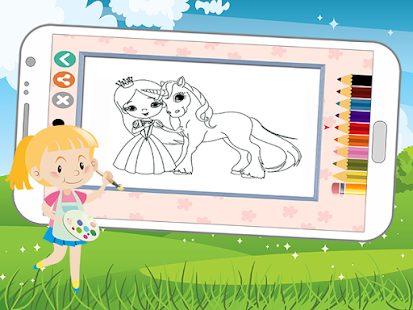 Prenses Boyama Kitabı Oyunu Google Playde Uygulamalar