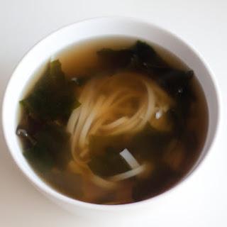 Fishcake Rice Noodle Soup