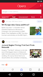 Opera browser - news & search Screenshot
