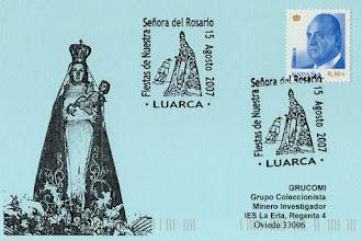 Photo: Matasellos Fiesta del Nuestra Señora del Rosario en Luarca 2007