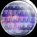 Keyboard Theme Glass Galaxy icon