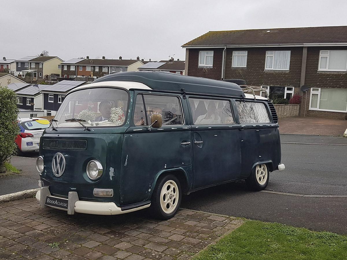 Volkswagen T2 Bay Window Hire Saltash