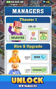 Box Office Tycoon MOD (Unlimited Money) 4