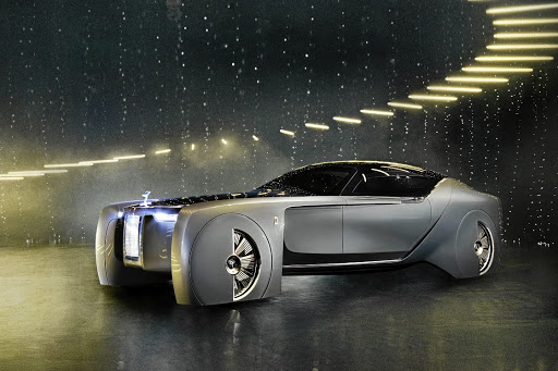 The Rolls-Royce Vision Next 100 was a showcase for the brand's future design ideas and technology. Picture: NEWSPRESS UK