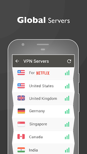 VPN Proxy Master - free unblock & security VPN 1.1.6 screenshots 3