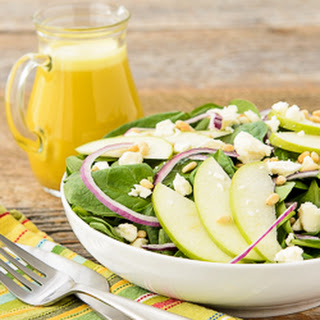 Spinach Salad with Honey Tangerine Dressing Recipe