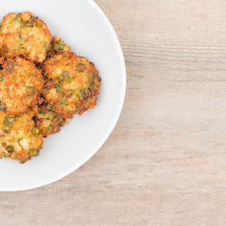 Curried Fish Cakes.