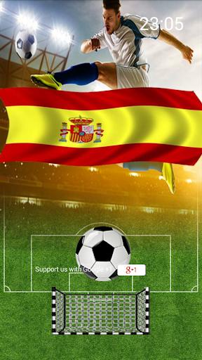 Fútbol España Lockscreen