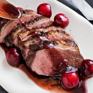 Duck With Cherries and Red Wine Vinegar