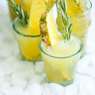 Pineapple Prosecco Punch.
