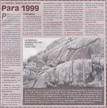 Photo: LA PEDRIZA - Cancho de los Brezos -01- (DNL 149 - 1999)