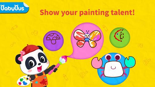 Baby Panda's Art Classroom: Music & Drawing 8.39.11.00 11