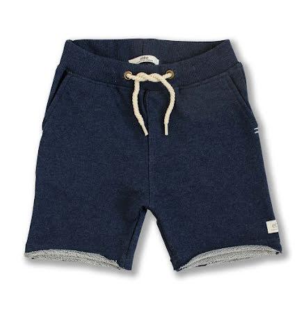 Rick - Marinblå sweatshorts till barn