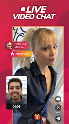 WHO - Live video chat dating & Match & Meet me APK screenshot thumbnail 2