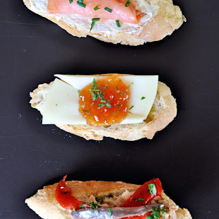 Open Faced Sandwiches Recipe