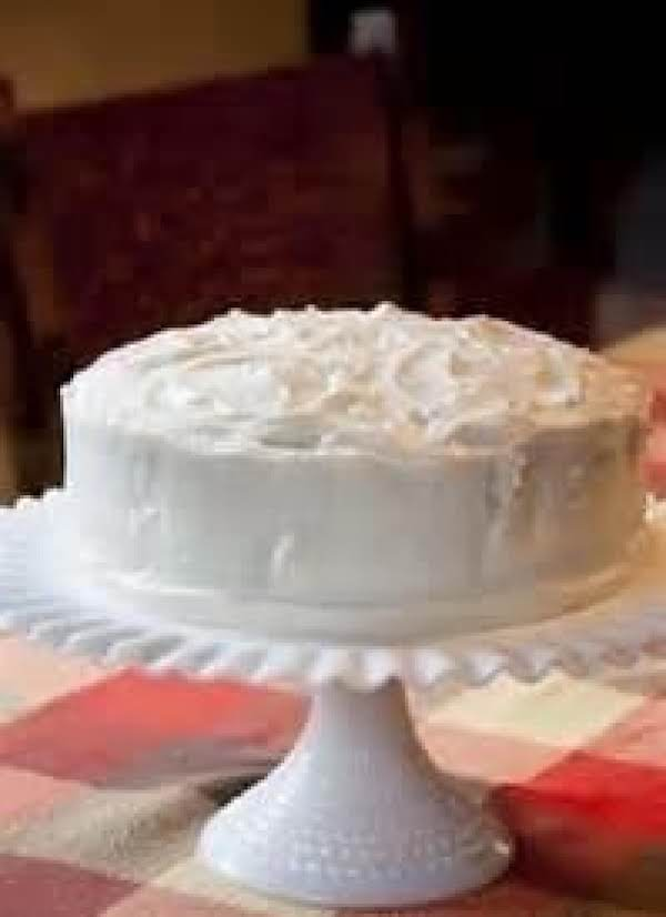 Sour Cream Or Whipping Cream Cake Recipe