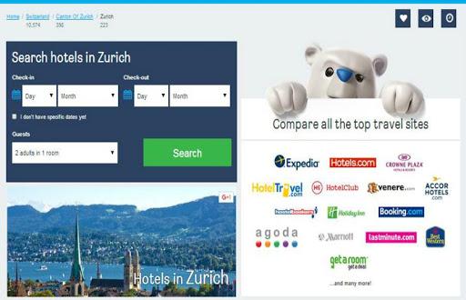 Zurich Hotel Booking
